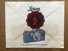 CHINA OLD DR SUN COVER LEICA CAMERA SCHMIDT AND CO SHANGHAI TO GERMANY 1936 !!