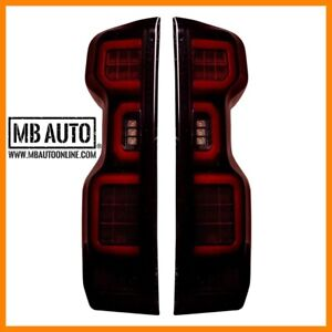 Chevy Silverado 19-20 1500 & 20-21 2500/3500 Replaces OEM LED TAIL LIGHTS