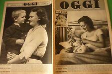 Hui 1960 Paola Ruffo + Margaret De Cire + Maria Carita Rabat Annamaria