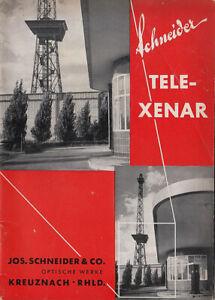Schneider Tele Xenar - Brochure