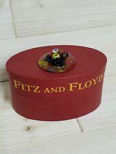 Fitz and Floyd ~ 2004 Glass Menagerie ~ 43/505 Milano Hat ~ Rare