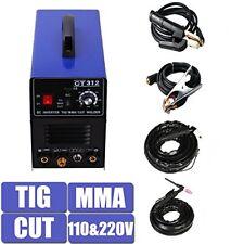 CT312 Household TIG/MMA Welder Plasma Cutter 3in1 Welding Machine 110/220V