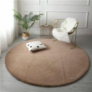 Plush Area Rug Carpet Shaggy Non Slip Washable Floor Mat For Living Room Bedroom
