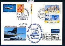 98089) Ireland Ryanair FF Altenburg-Edinburgh 31.3.2009 zudruck Plus Card BT