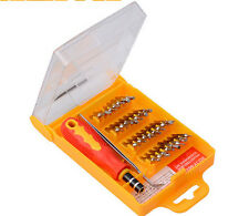 Precision 32 in 1 Screw Driver Set Small Pocket Screwdriver Set Bits Tool Kits x
