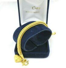 Bracelet or jaune 22 carats .