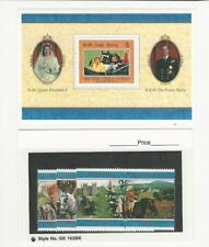 British Indian Ocean, Postage Stamp, #189-195 Mint NH, 1997 Queen, JFZ
