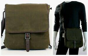 FOSSIL Men's Buckner NS City Messenger Bag Green MBG9421300