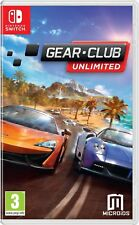 Gear.Club Unlimited [Nintendo Switch Region Free Racing Driving Multiplayer] NEW