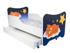 CHILDRENS BED TODDLER KIDS WITH MATTRESS NEW *32 DESIGNS* 160x80 cm