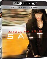 SALT (2 BLU-RAY 4K + 2K) DEFINIZIONE ULTRA HD con Angelina Jolie