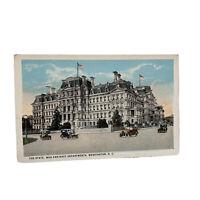 Washington DC State War & Navy Building Old Cars Vintage Postcard