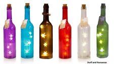 Glass Bottle LED Light Star Fairy Lamp Table Home Festive table Decoration Gift