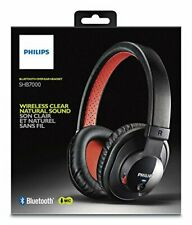 Philips Headphones SHB7000 Bluetooth Stereo Headset Earphones and Mic Top Sound