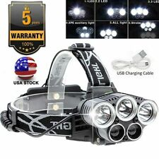High Power 350000LM T6 LED Headlamp Headlight Torch Rechargeable Flashlight US
