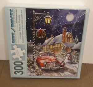 Bits and Pieces Puzzle Almost Home for Christmas 300 Pieces #46864