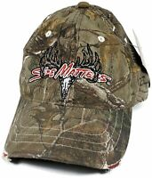 Realtree Hunting Camouflage SIZE MATTERS Hat Cap Quick Wicking & Cooling OSFM