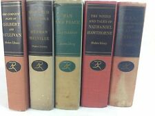 5 MODERN LIBRARY Giants Book Lot - Tolstoy Melville Hawthorne Dos Passos