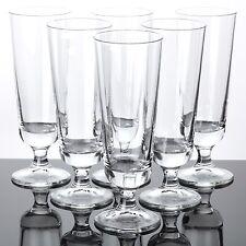 6 Pilstulpen Biergläser oder Longdrinkgläser Cocktailgläser schlicht Gläser