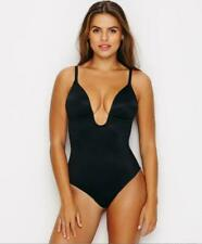 NEW Spanx Suit Your Fancy XL Convertible Thong Bodysuit Black Low Back Shapewear