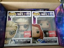 Funko Pop! Marvel What If.? Post Apocalyptic Black Widow and The Collector
