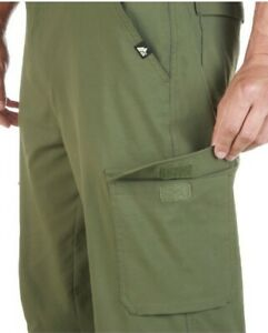 34x30 Fishing Wading Cargo Pants Stretchable flex fit breathable zip off shorts