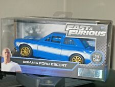 Fast And Furious Brians Ford Escort 1:32 Blue