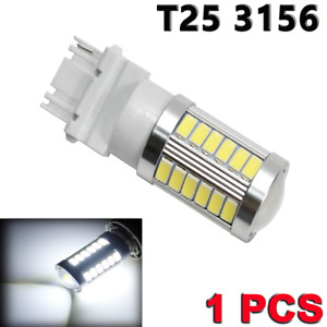T25 3156 3456 Super Bright White 33 LED Bulb Reverse Backup Light Y1 YA