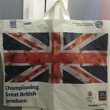 ALDI LARGE PLASTIC CARRIER BAG UNION JACK FLAG - NEW