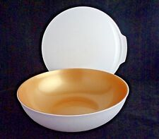 FREE SHIP Tupperware Chic Dining 15 Cup/3.5 L Bowl w/Seal serve NEW Gold