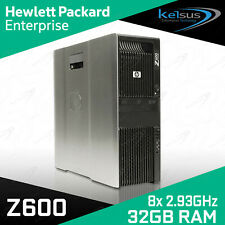 HP Z600 Professional Workstation PC 8 Cores 2.93GHz  32GB RAM Nvidia Graphics