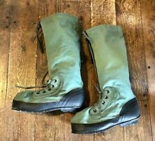 ~NOS! US MILITARY ISSUE EXTREME COLD WEATHER MUKLUKS BOOTS N-1B SZ LARGE (10-12)