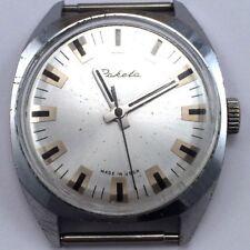 Vintage Soviet RAKETA WindUp Watch Cute Dial&Case USSR 70s 2609 *US SELLER* #834