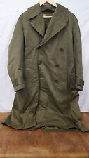 WWII Era M-1943 US Army Overcoat and Liner Size Reg-Med