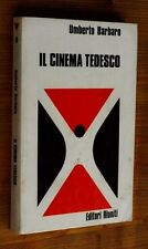 UMBERTO BARBARO: Il cinema tedesco p. e. 1973  Editori Riuniti  W