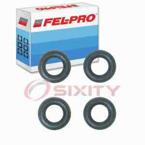 Fel-Pro Fuel Injector O-Ring Kit for 1989-1990 Plymouth Acclaim 2.5L L4 Air qk