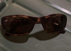 Ray Ban RB4115  642/73 Sunglasses Havana w/ Brown Classic