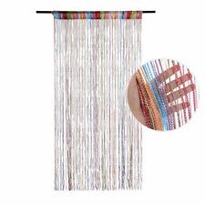 Hanging Beaded Curtain String Door Window Curtains Tassel Fly Screen Panel