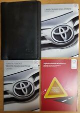 TOYOTA LAND CRUISER 150 PRADO USER GUIDE MANUAL NAVI WALLET 2014-2017 PACK A-615