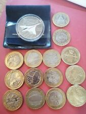 More details for collection of £2 coins and a £5 coin, the £5 coin comes in a case and pouch.