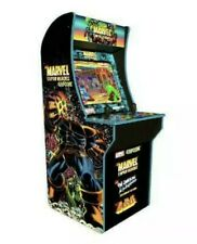 Arcade1up Marvel Super Heroes At Home Arcade Video Game Cabinet 3 Games New Rare