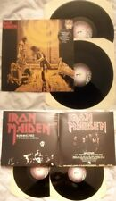 IRON MAIDEN - RUNNIN FREE / SANCTUARY - ANNO 1990 - Stampa UK - 2 LP - MINT