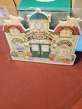 Cherished Teddies by Enesco Crt289 Town Depot Display New in Wrapping