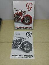 Arlen Ness 1998 Motorcycle Parts catalog Custom Harley Davidson