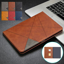For iPad 10.2 7th Mini 5 Air 10.5 Pro 11 2020 Case Leather Card Slot Flip Cover