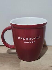 Starbucks Coffee Cup Mug 2010 Red Lipped Rare