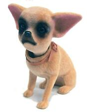 2 STAND UP BOBBLE HEAD CHIHUAHUA DOG mexican dog bobbing heads car dash pupppy