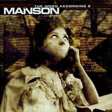 The Word According to Manson [EP] by Marilyn Manson & the Spooky Kids (2 DISCS)