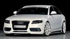 AUDI S4 B8 Genuine Rieger Brand OEM ABS Plastic Front Bumper Spoiler NEW