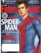 ANDREW GARFIELD Spider-Man EMMA STONE Rhys Ifans COMIC CON 2011 magazine